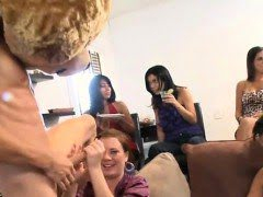 Adorable girls watche their...