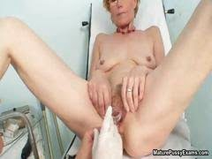 Horny old housewife getting...