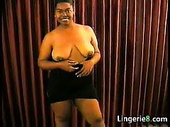Fat Ebony Slut Wants Cock