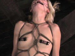 Restrained sub has mouth...
