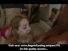 Amateur sex orgy with...