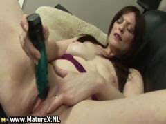 Horny mature mom loves to...